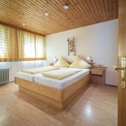 Schlafzimmer der Ferienwohnung