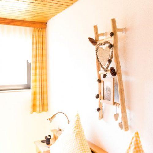 Im Schlafzimmer der Ferienwohnung