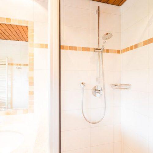 """Badezimmer der Ferienwohnung """"Hase"""" – Unterhöfenhof"""