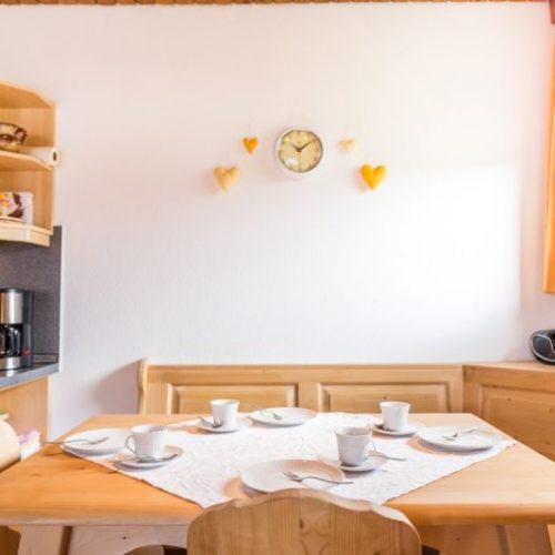 """Küche der Ferienwohnung """"Hase"""" – Unterhöfenhof"""
