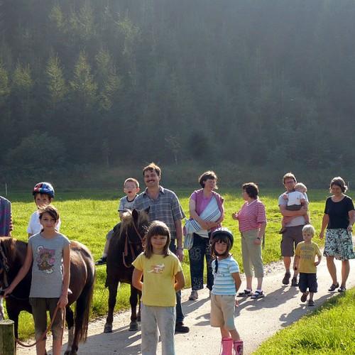 Erlebniswanderungen auf dem Unterhöfenhof - Ferienwohnungen Schwarzwald Titisee Jostal