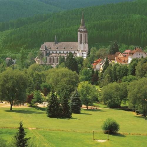 Blick auf das Münster in Neustadt (Bild: Hochschwarzwald Tourismus Gmbh)