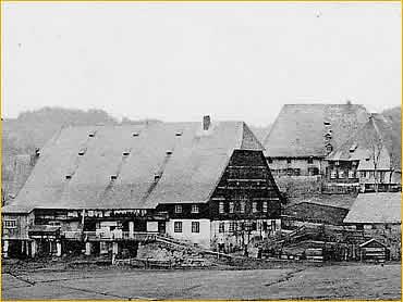Unterhöfenhof um das Jahr 1900
