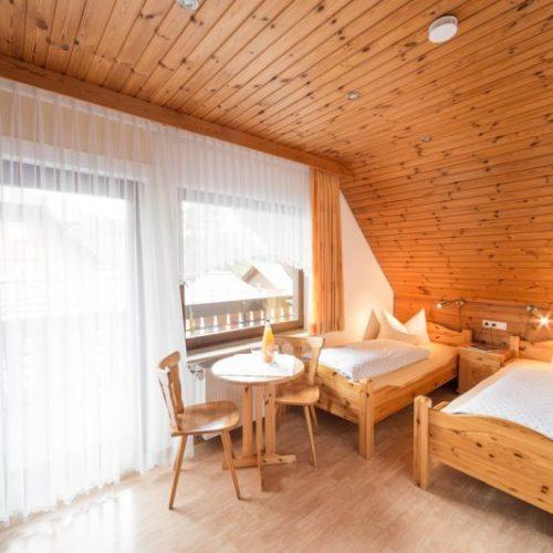 """Schlafzimmer der Ferienwohnung """"Hase"""" – Unterhöfenhof"""