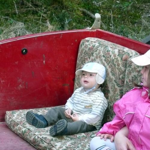 Traktorfahrten für Kinden auf dem Unterhöfenhof - Ferienwohnungen Schwarzwald Titisee Jostal