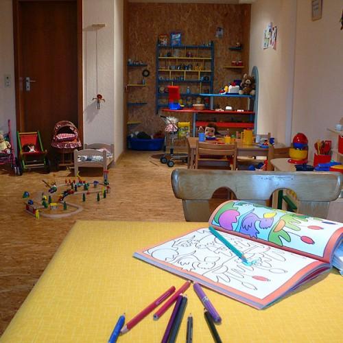 Spielecke im Unterhöfenhof - Ferienwohnungen Schwarzwald Titisee Jostal