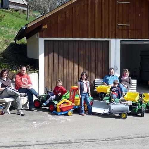 Platz für Kinder auf dem Unterhöfenhof - Ferienwohnungen Schwarzwald Titisee Jostal