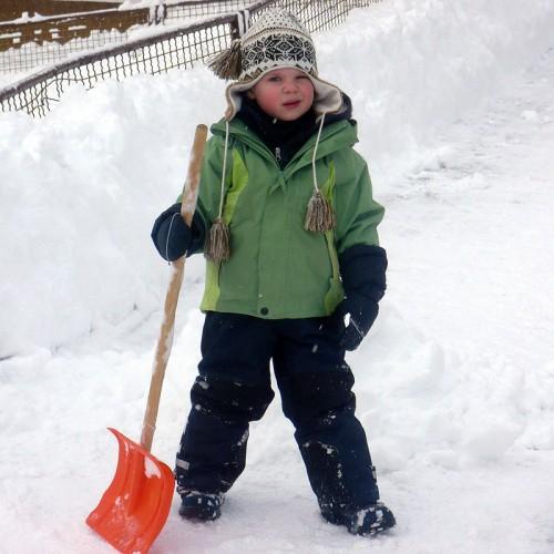 Spaß im Schnee auf dem Unterhöfenhof - Ferienwohnungen Schwarzwald Titisee Jostal