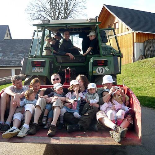 Spaß für Kinder auf dem Unterhöfenhof - Ferienwohnungen Schwarzwald Titisee Jostal